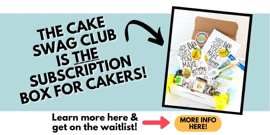 cake swag club rectangle ad graphic