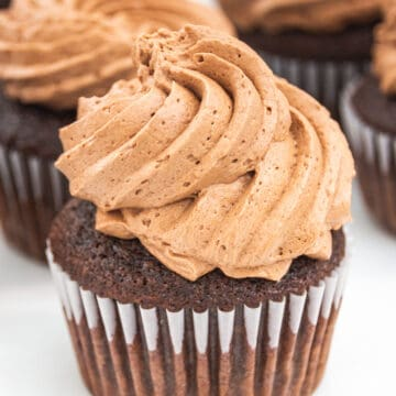 chocolate whipped buttercream