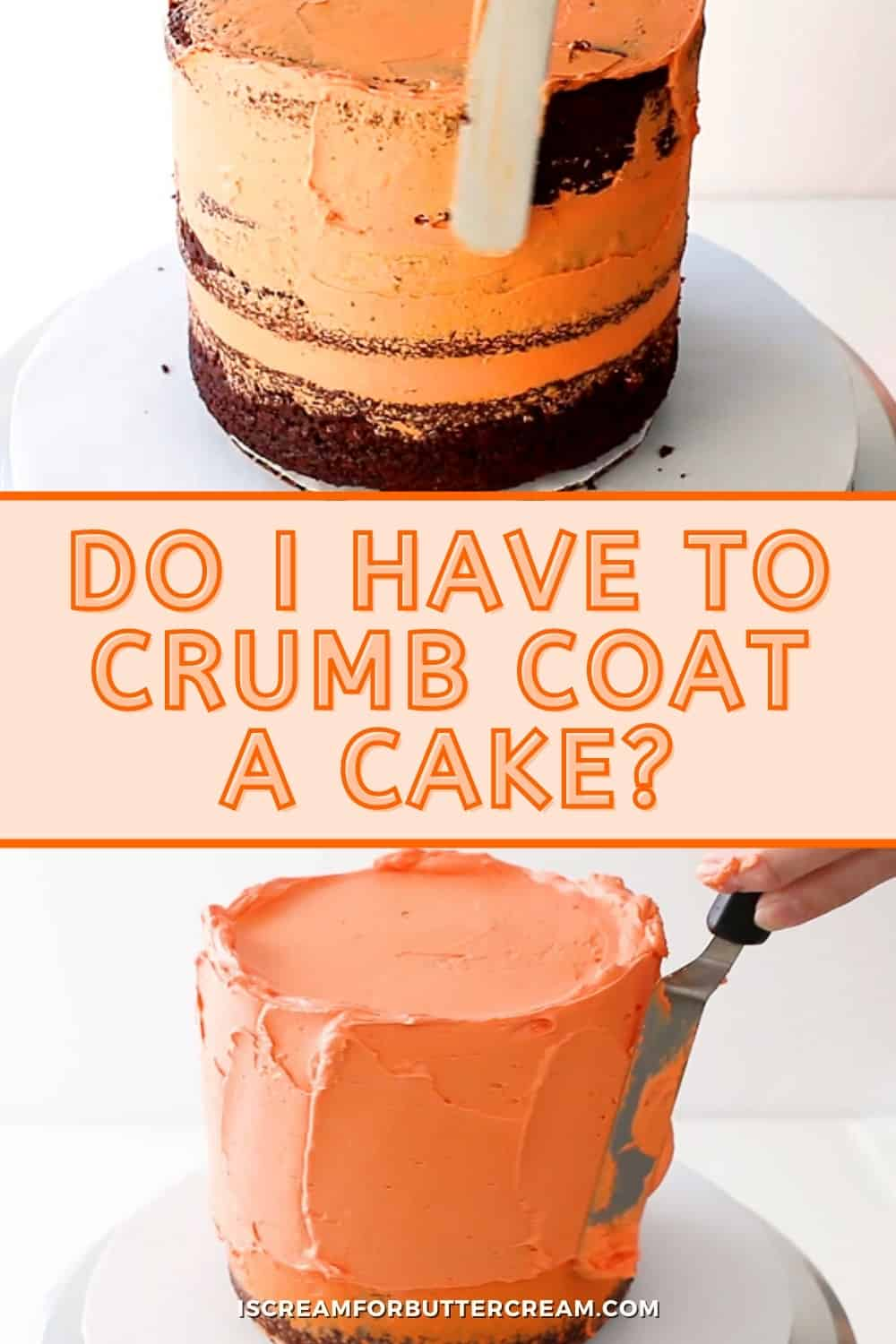 do I have to crumb coat a cake pin graphic 1