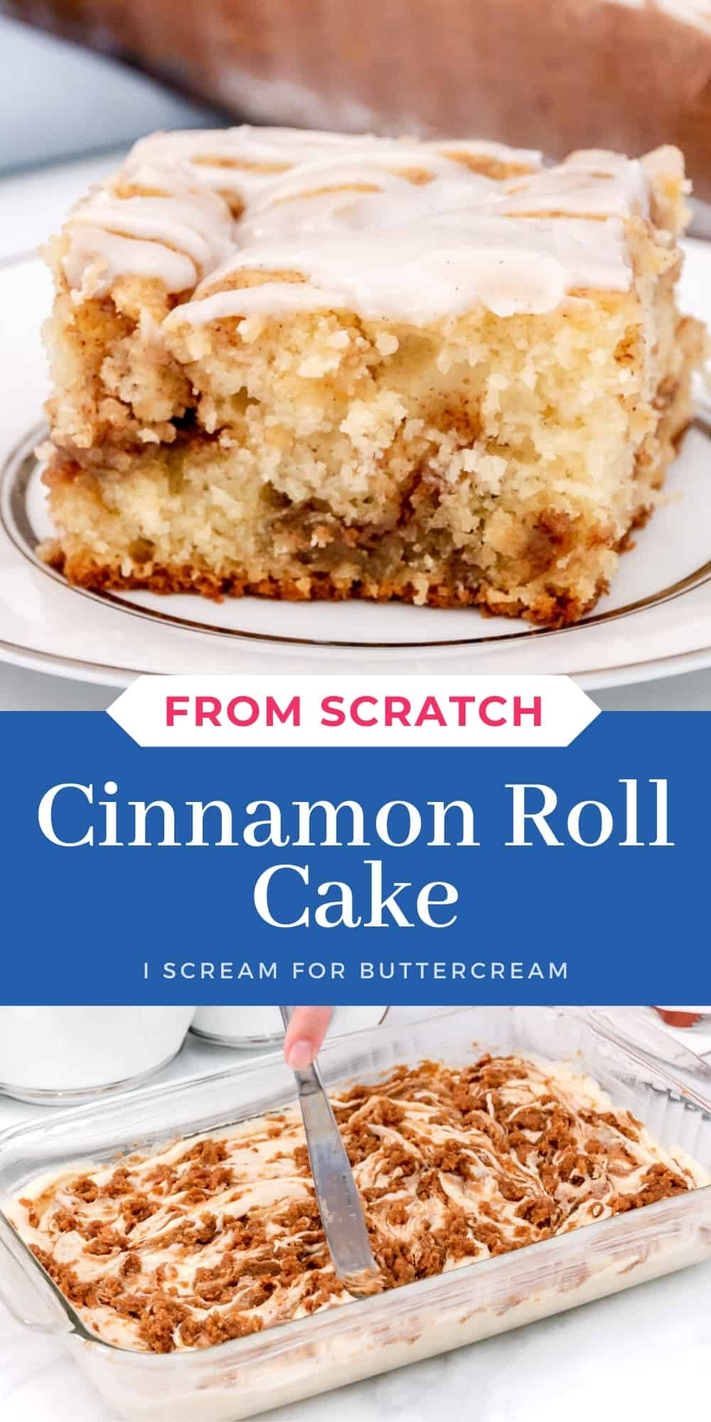 cinnamon cake pin graphic with text